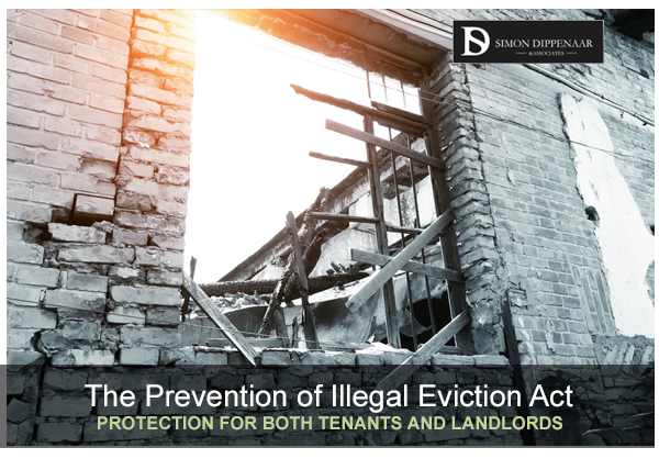 5 key terms for understanding the Prevention of Illegal Eviction Act