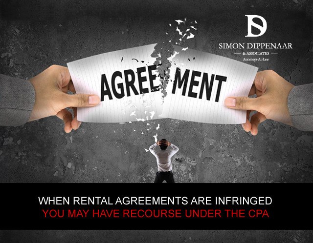 THE CONSUMER PROTECTION ACT AND RENTAL AGREEMENTS