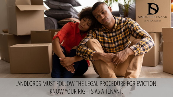 Landlords must follow the legal procedure for eviction. Know your rights as a tenant.