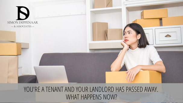 You're a tenant and your landlord has passed away. What happens now? Eviction lawyers