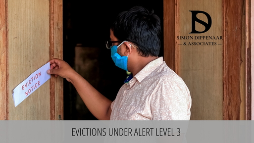Evictions under lockdown level 3 South Africa