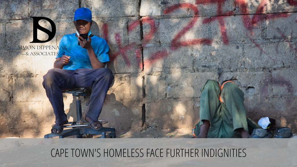 City of Cape Town accused of taking homeless people's belongings